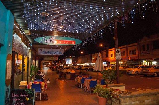 Sofra Turkish Cuisine: Outside seating