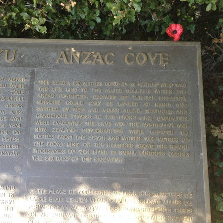 Hassle Free Travel: Anzac Cove plaque
