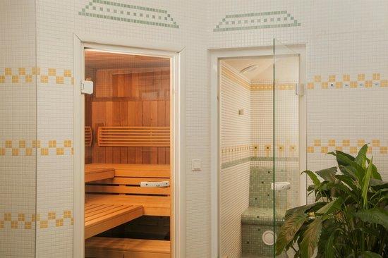 Best Western Premier Kaiserhof Wien: Sauna & Sanarium