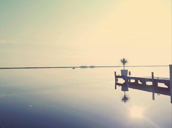 Haus Im See: Steg zum See