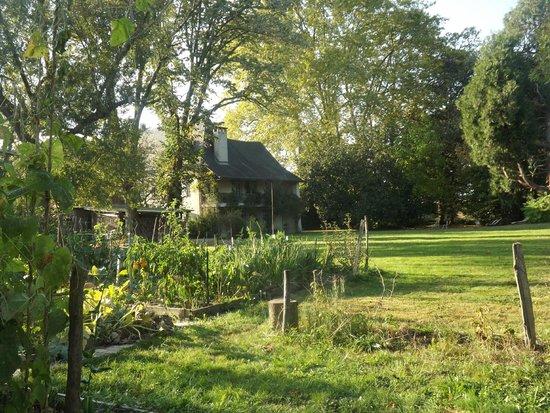 Maison Lespoune : Site hôtelier vue du jardin