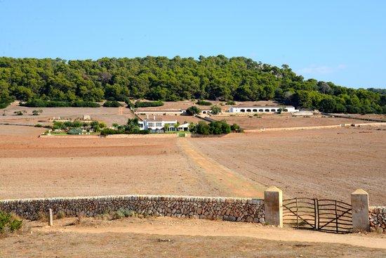 Finca Atalis: Blick vom Meer auf dals Hotel