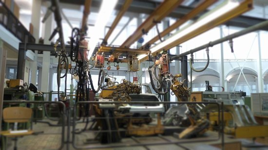 Technoseum Mannheim (ehemals Landesmuseum fuer Technik und Arbeit): Montage Technik