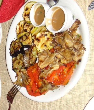 Ampelaki Greek Restaurant: Ampeliki Grilled Veggies