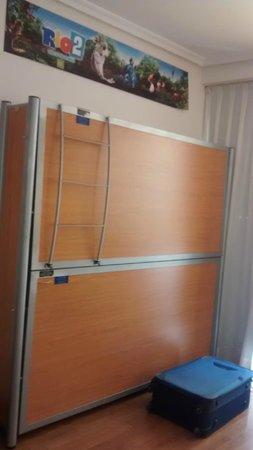 Tryp Madrid Atocha Hotel: literas de la family room