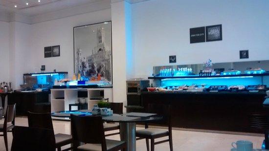 Tryp Madrid Atocha Hotel: comedor