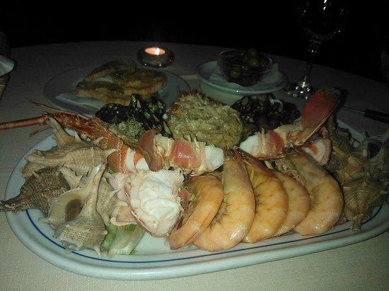 Restaurante Alfoz: Uma excelente mariscada :D