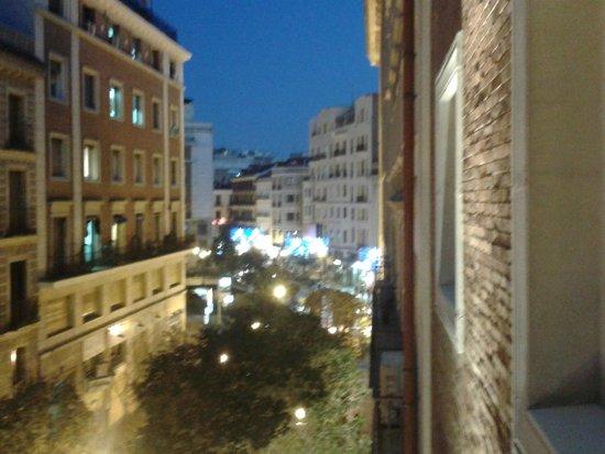 Hotel II Castillas: vistas desde la hab