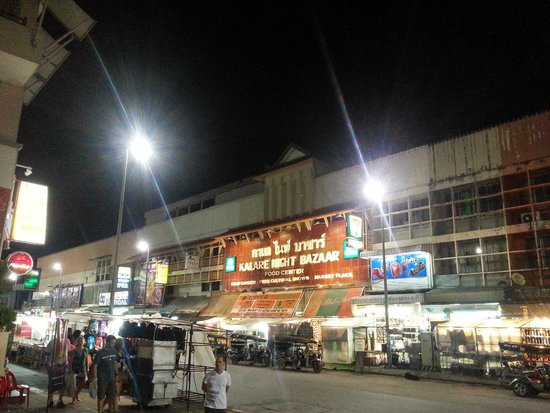 Kalare Night Bazaar : The night view of the Bazaar