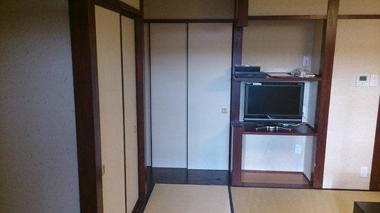 Ryokan Tanabe : Una parte de la habitación: la TV