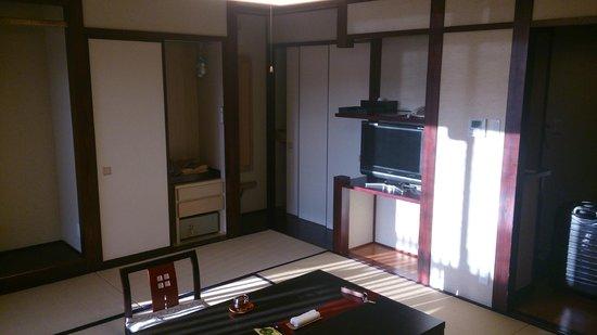 Ryokan Tanabe : otra vista de la habitación