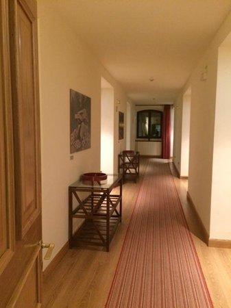 Hotel Rural Olatzea : Pasillo habitaciones