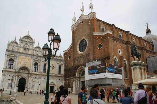 Basilica dei Santi Giovanni e Paolo (San Zanipolo): Scuola Grande di San Marco y Basilica dei Santi Giovanni e Paolo