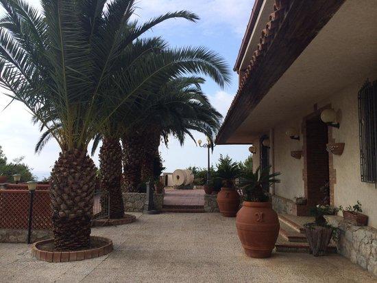 B&B Villa Sorriso : l'ingresso