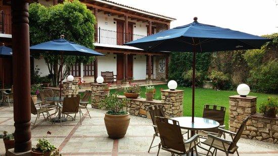 Hotel Parador Margarita: Внутренний дворик