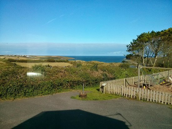 Parkdean - Crantock Beach Holiday Park: View of the beach from our Truro caravan