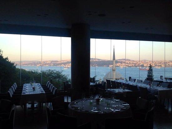 Topaz Restaurant: View From Topaz