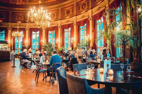 Photo of French Restaurant De Foyer at Komedieplaats 18, Antwerp 2000, Belgium