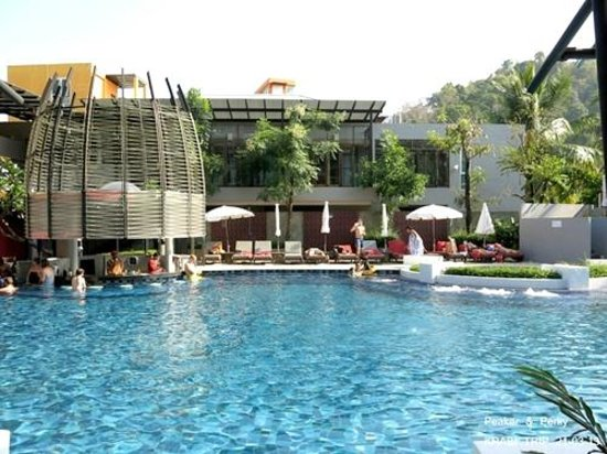 Red Ginger Chic Resort: nice pool view