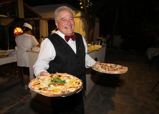 Hotel Florida: Pizza!