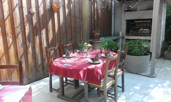 Auberge Gasconne : terrasse