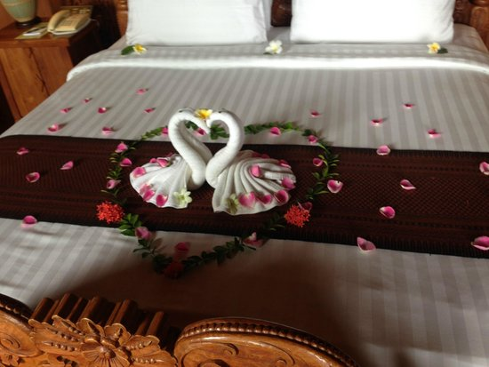 Panviman Resort - Koh Pha Ngan: Adding that special touch to our honeymoon