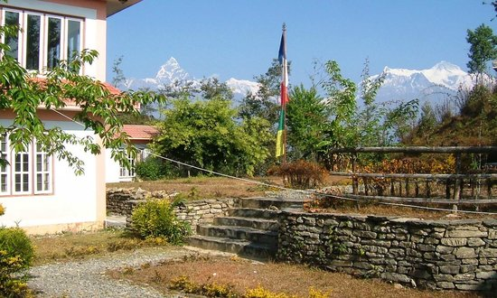 Sherpa Resort: Garden view