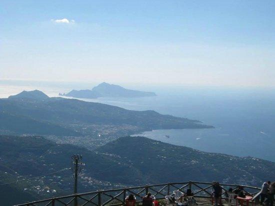 Monte Faito e Panorama: Capri e penisola sorrentina