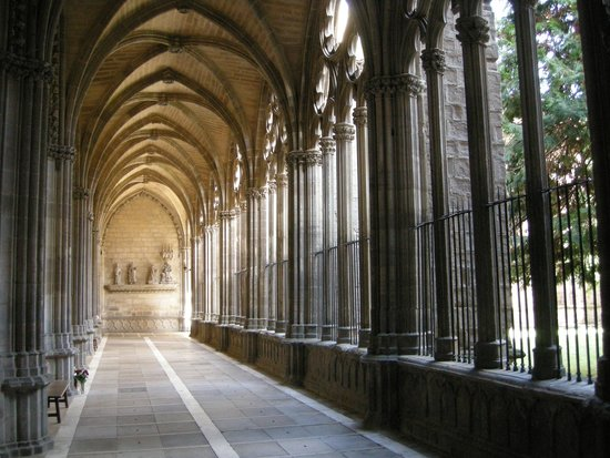 Pamplona Catedral: The cloisters