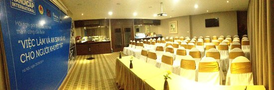 Authentic Hanoi Hotel: Meeting room set up