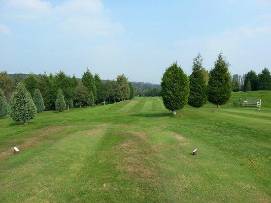 Sedlescombe Golf Hotel: zicht op golfbaan