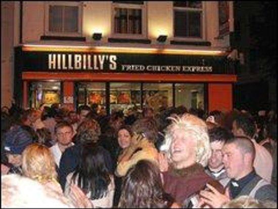 Hillbillies Fast Food Cork