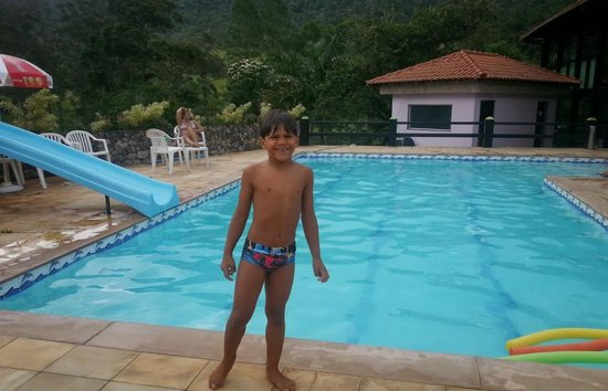 Hotel Fazenda Recanto Das Aguas De Teresopolis : Piscina