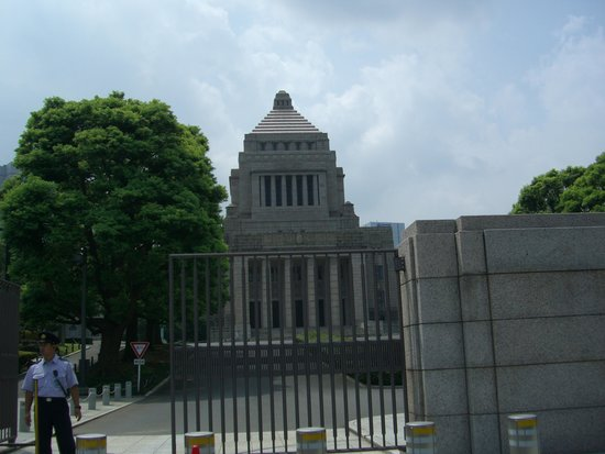 National Diet Building: 外観