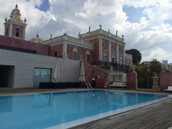 Pousada Palacio Estoi: Très agréable piscine