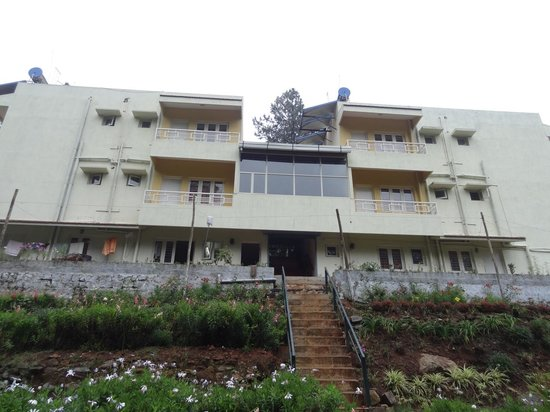 Pinewood Guest House: Back View