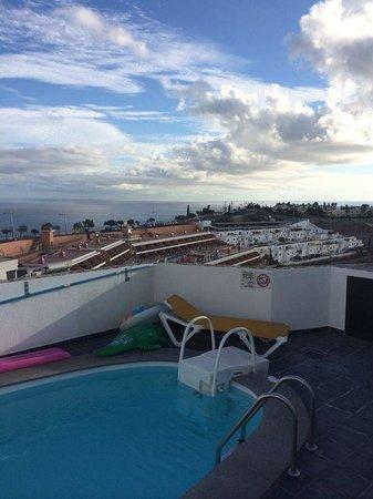 Mirador Del Mar Villas: Views from all villas of the sea and landscape