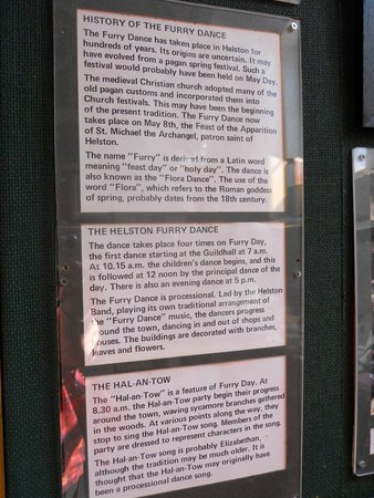 Helston Museum: Good History of Furry Dance