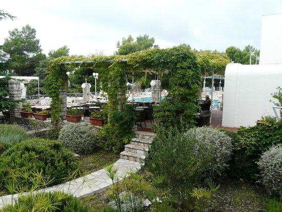 Bluesun Hotel Borak : Vers la piscine