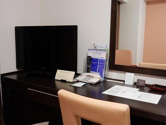 Daiwa Roynet Hotel Kanazawa : デスク