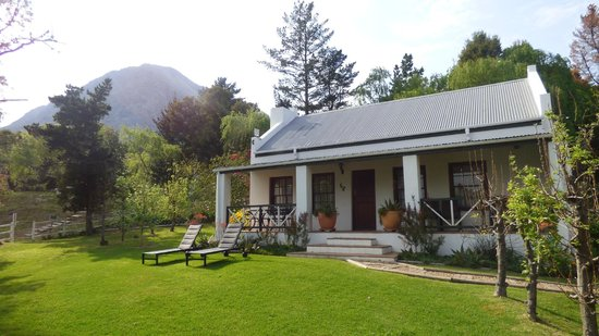 Cottage Exterior Picture Of Bo La Motte Farm Cottages Franschhoek Tripadvisor