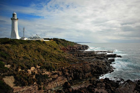 Green Cape Lighthouse : lighthouse's view