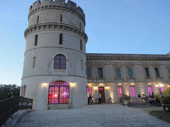 Château de Barbegal : le chateau est son jeu de lumière