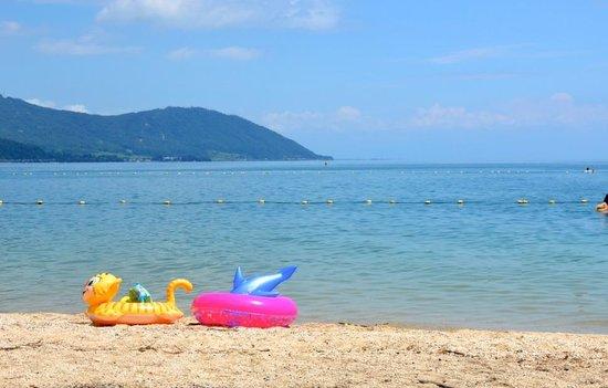 Lake Biwa: Omimaiko Beach