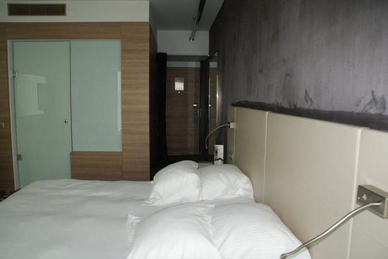 Hôtel Barrière Lille : chambre au 9 è étage