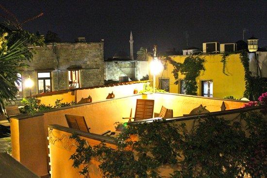 Hotel Attiki: La terrazza