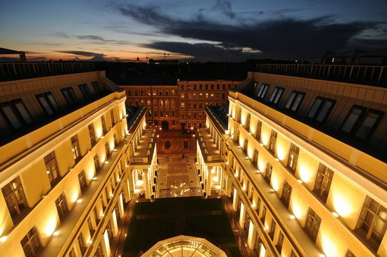 The State Hermitage Museum Official Hotel: View from the Roof Terrace