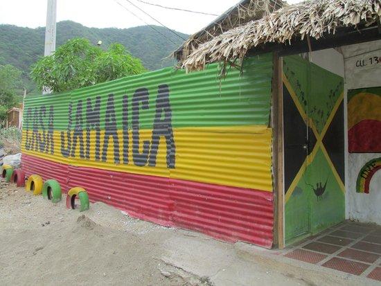 Hostal Casa Jamaica: front of hostel