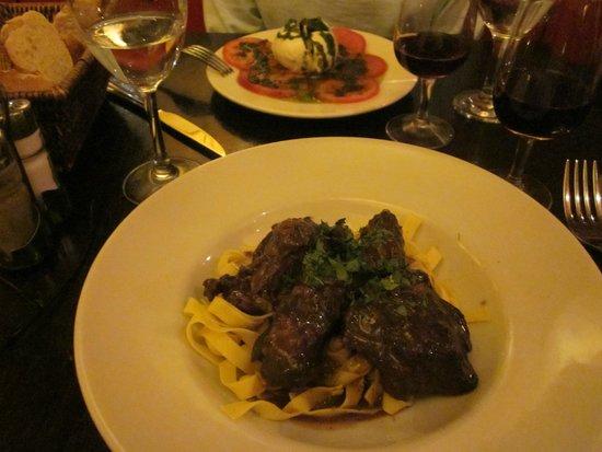 Le Corail: Beef burgundy