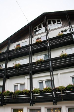 Langelsheim, Germany: front of the hotel